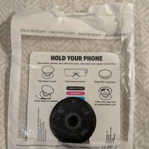 adidas Accessories - Adidas Black Popsocket